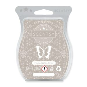 Frosted White Birch Scentsy Bar