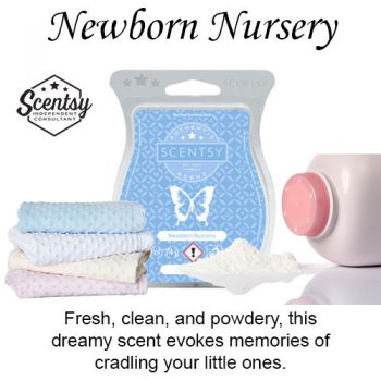 Newborn Nursery Scentsy Wax Melt