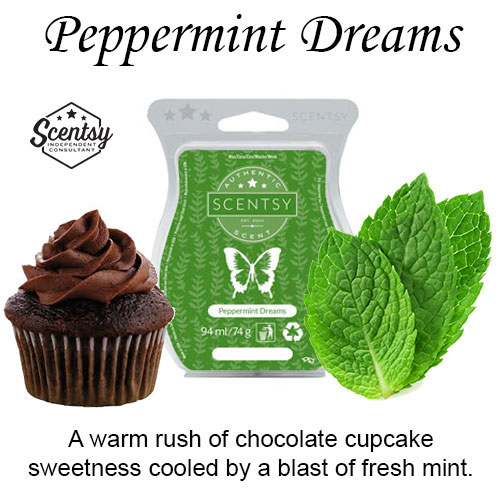 Peppermint Dreams Scentsy Wax Melt