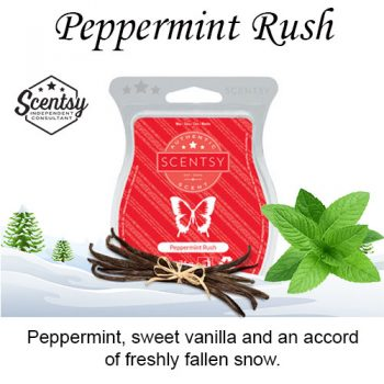 Peppermint Rush Scentsy Wax Melt