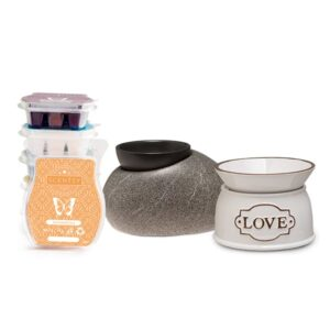 Perfect Scentsy - 2 x £30 Warmer & 6 Bar Multi-Pack