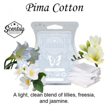Pima Cotton Scentsy Wax Melt