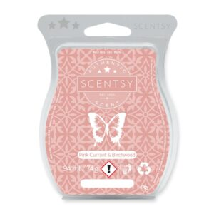 Pink Currant and Birchwood Scentsy Bar