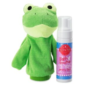 Ribbert The Frog Scrubby Buddy & Bath Smoothie