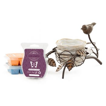 Scentsy System – 1 x £48 Warmer & 3 Bar Multi-Pack