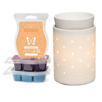 Scentsy System - 1 x £36 Warmer & 3 Bar