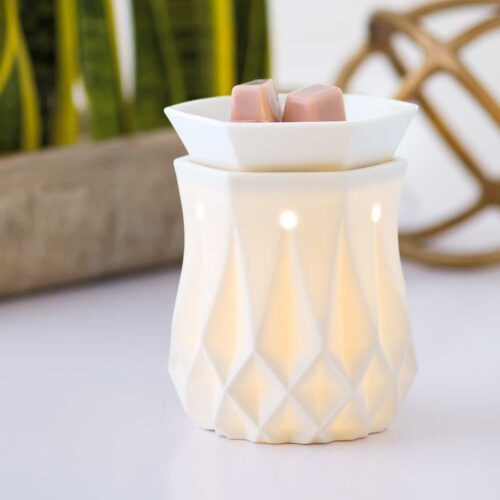 Scentsy UK Alabaster Warmer