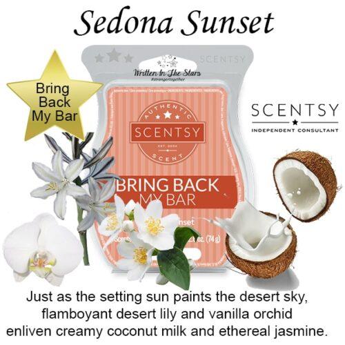 Sedona Sunset Scentsy Bar
