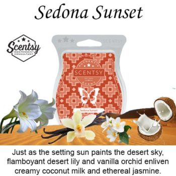 Sedona Sunset Scentsy Wax Melt