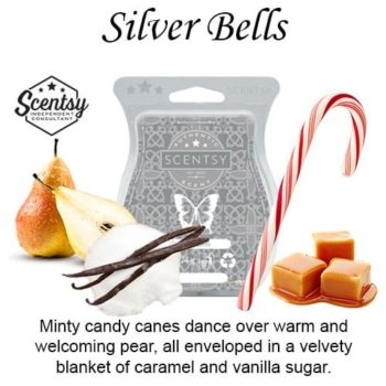 Silver Bells Scentsy Wax Melt