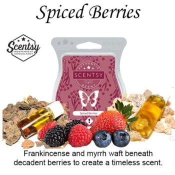 Spiced Berries Scentsy Wax Bar