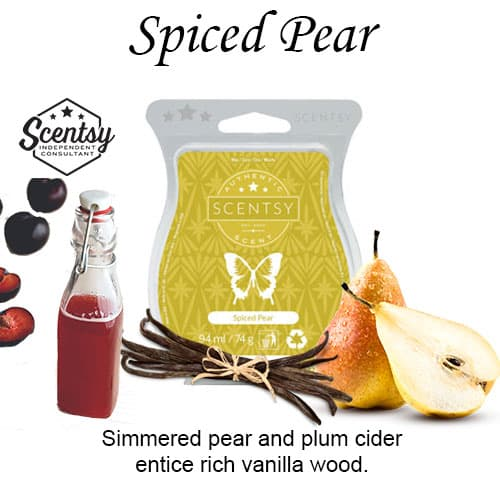 Spiced Pear Scentsy Wax Bar