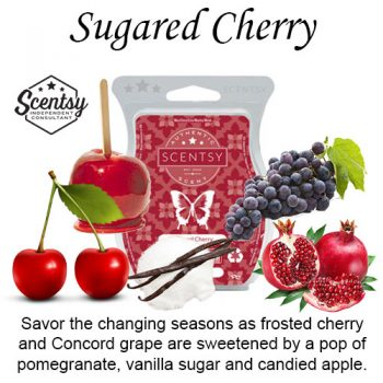 Sugared Cherry Scentsy Wax Bar