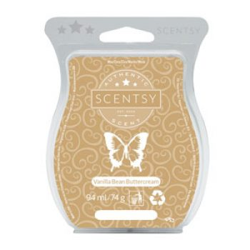 Vanilla Bean Buttercream Scentsy Bar