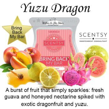 Yuzu Dragon Scentsy Bar