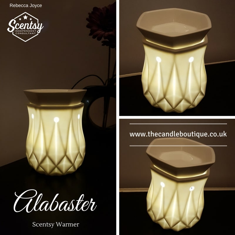Alabaster Scentsy Electric Wax Warmer