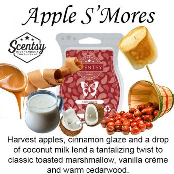 Apple Smores Scentsy Wax Melt