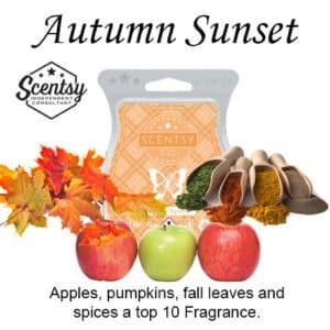 Autumn Sunset Scentsy Wax Melt