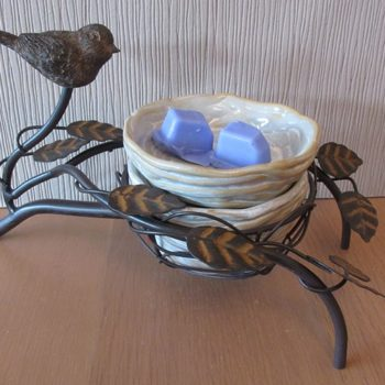 birds nest scentsy warmer
