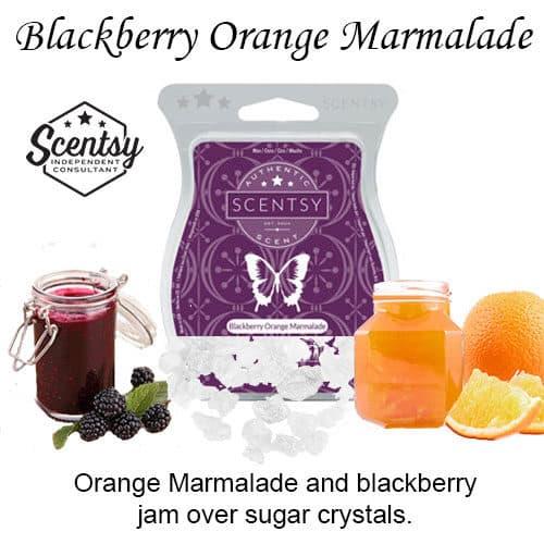 Blackberry Orange Marmalade Scentsy Wax Bar