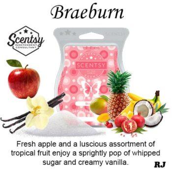 braeburn scentsy wax melt