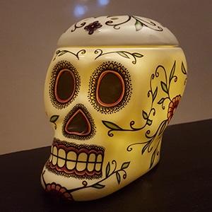 Calavera Skull Scentsy Electric Wax Warmer