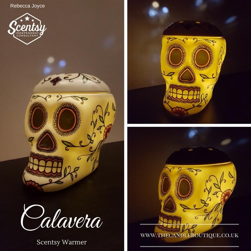 Calavera Sugar Skull Scentsy Wax Warmer