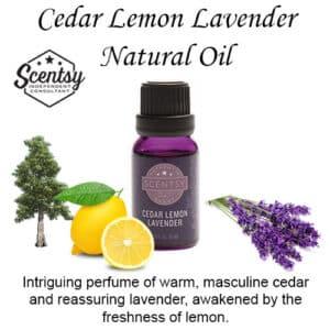 Cedar Lemon Lavender Natural Diffuser Oil