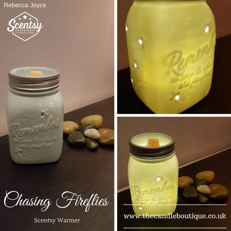 Chasing Fireflies Scentsy Wax Warmer