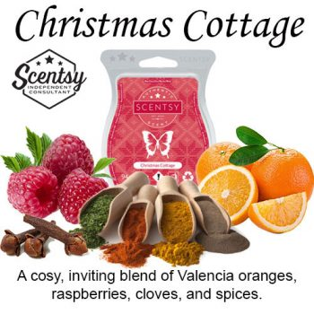 Christmas Cottage Scentsy Wax Melt