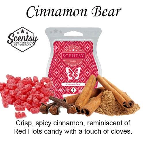 Cinnamon Bear Scentsy Wax Melt
