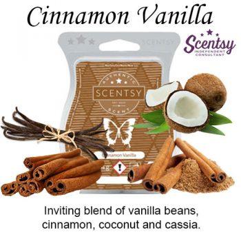 Cinnamon Vanilla Scentsy Wax Melt