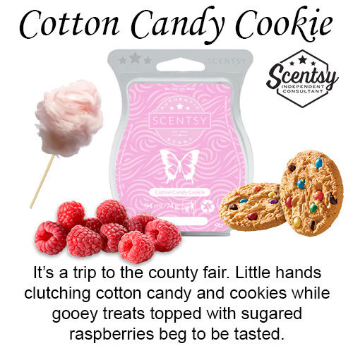 Cotton Candy Cookie Scentsy Wax Melt