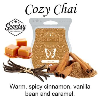 Cozy Chai Scentsy Wax Melt