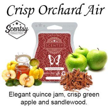 Crisp Orchard Air Scentsy Wax Melt