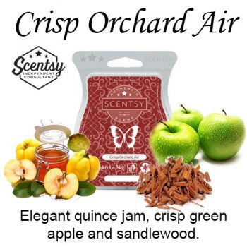 Crisp Orchard Air Scentsy Wax Melt