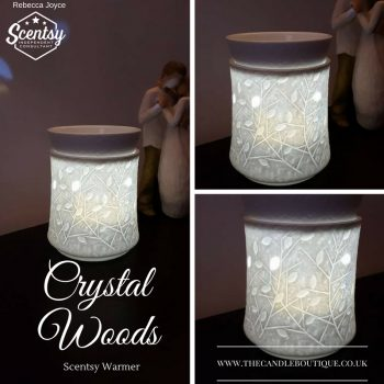 Crystal Woods Scentsy Wax Warmer