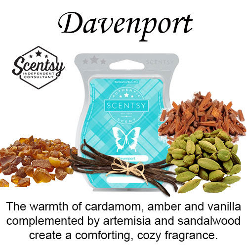 Davenport Scentsy Wax Melt