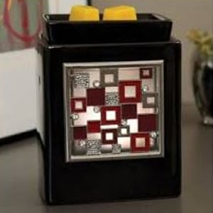 Ebony Cube With Sparkle Frame