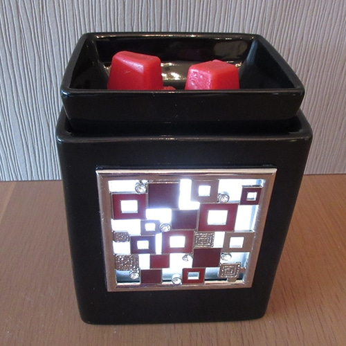 scentsy ebony cube warmer