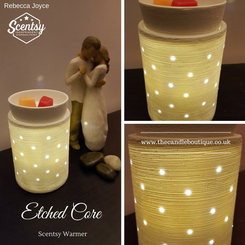 Etched Core Scentsy Wax Warmer