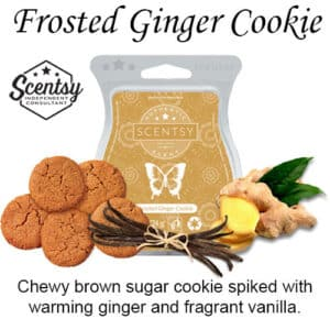 Frosted Ginger Cookie Scentsy Wax Melt