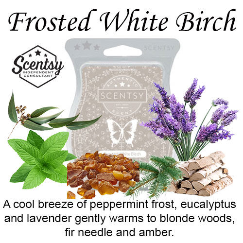 Frosted White Birch Scentsy Wax Melt