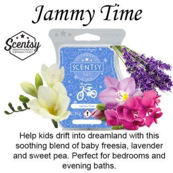 Jammy Time Scentsy Wax Melt