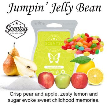 Jumpin Jelly Bean Scentsy Wax Melt