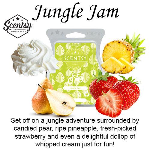 Jungle Jam Scentsy Wax Melt
