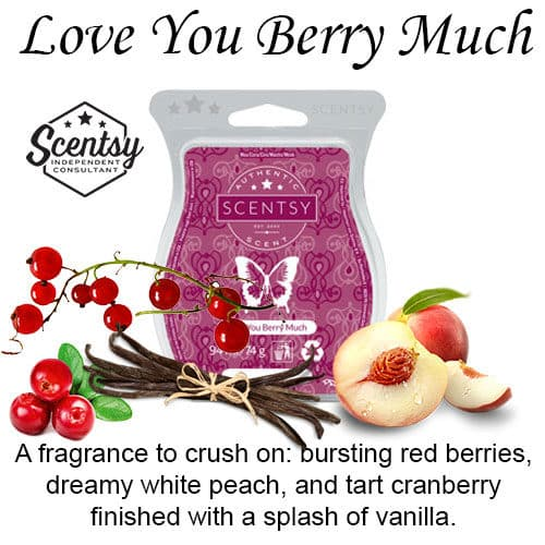 Love You Berry Much Scentsy Wax Melt
