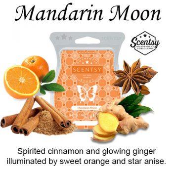 Mandarin Moon Scentsy Wax Melt