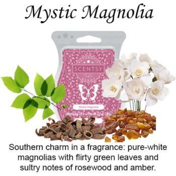 Mystic Magnolia Scentsy Wax Melt