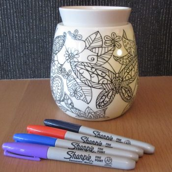 Scentsy Reimagine Adult Colouring Warmer